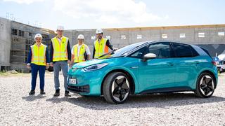 Curtius und Bierhoff besuchen Baustelle des neuen DFB