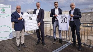 DFB-Neubau: Nächster Meilenstein für Energieversorgung erreicht