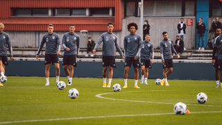 DFB-Team bereitet sich auf Spanien vor