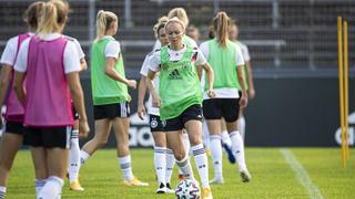 DFB-Frauen: Vorbereitung auf das Irland-Spiel