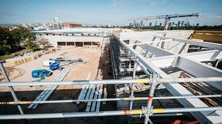 DFB-Neubau nimmt weiter Formen an