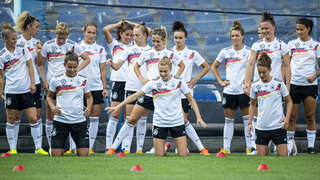 Abschlusstraining vor dem Montenegro-Spiel