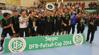 N.A.F.I. Stuttgart gewinnt den DFB Futsal-Cup 2014