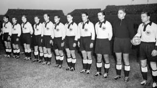 So lief's 1950: Länderspiel zwischen Deutschland und der Schweiz