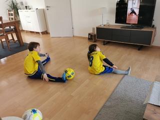 Heimtraining von und mit den Jugendtrainern vom Kevelaerer SV