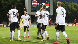 U 21 gewinnt zweites EM-Qualispiel in Lettland