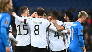 WM-Qualifikation: Kantersieg gegen Island