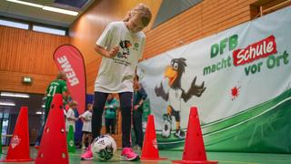 Mit Talent und Spaß zum Fußball-Abzeichen