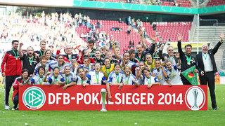 1. FFC Frankfurt gewinnt DFB-Pokal der Frauen 2014