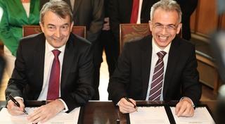 DFB und Stadt Frankfurt unterzeichnen Absichtserklärung