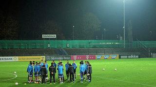 DFB-Team vor dem Gibraltar-Spiel: Bilder vom Dienstag
