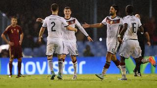 Spanien vs. Deutschland