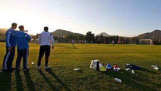 U 16: Trainingsbilder aus La Manga/Spanien