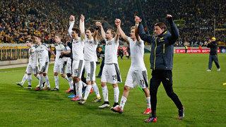 DFB-Pokal-Achtelfinale: Dresden gegen Dortmund