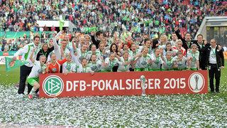 VfL Wolfsburg gewinnt den DFB-Pokal der Frauen 2015