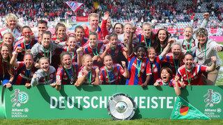 Bayern-Frauen sind Deutscher Meister