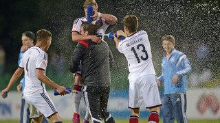 U 17-EM: Serra schießt Deutschland ins Endspiel