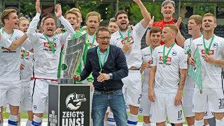 Arminia feiert Meisterschaft der 3. Liga