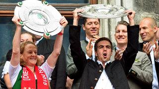 Gemischtes Double: München feiert seine Meister