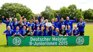 Potsdams B-Juniorinnen sind zum zehnten Mal Deutscher Meister