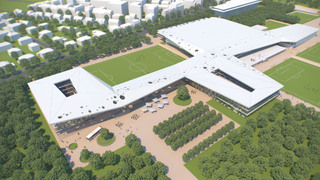 DFB-Akademie: Gewinnerentwurf des Architektenwettbewerbs