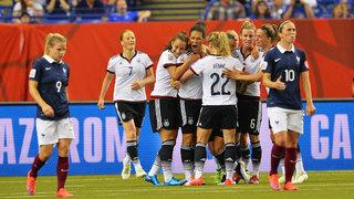 WM-Viertelfinale: Deutschland vs. Frankreich