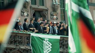 1990: Der Empfang der Weltmeister in Frankfurt
