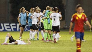 U 19-Frauen buchen das EM-Halbfinale