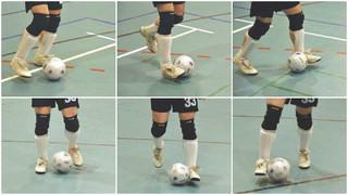 Blindenfußball: Ballgefühl beim Dribbeln und Passen