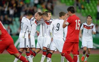 Elite Cup: U 20 mit Auftaktsieg gegen Türkei