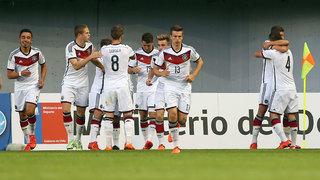 U 17-WM: Deutschland feiert Kantersieg
