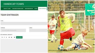 Handicap-Börse: Hier finden Vereine und Fußballer mit Handicap zusammen