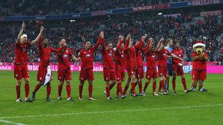 FC Bayern sichert sich die Herbstmeisterschaft