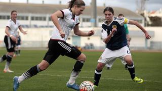 U 16-Juniorinnen mit deutlichem Sieg gegen Schottland