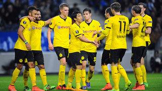 Dortmund und Leverkusen in Runde der letzten 16