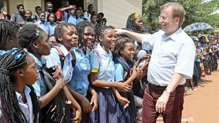 Dr. Rainer Koch in Mosambik und Namibia