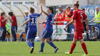 DFB-Pokal-Halbfinale der Frauen: Sand und Wolfsburg ziehen ins Finale ein