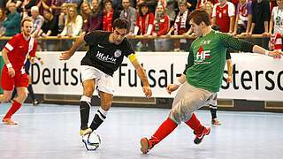 Futsal-Viertelfinale: Showdown in Hamburg