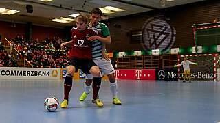 DFB-Hallenmeisterschaften der Junioren: Start in Gevelsberg