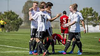 10:1 - U 17 mit Kantersieg gegen Armenien