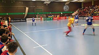 DFB-Hallenmeisterschaft: Halbfinalisten bei den Junioren stehen fest