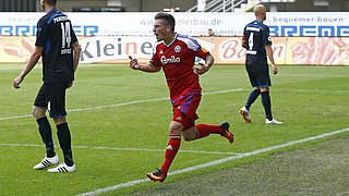 Lewerenz ist Spieler des 31. Spieltags