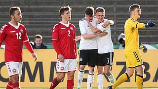 Video: U 19 gewinnt 3:1 gegen Dänemark