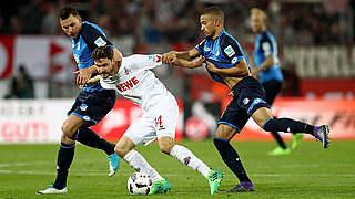 Spätes 1:1 in Köln: Hoffenheim erstmals für Europacup qualifiziert