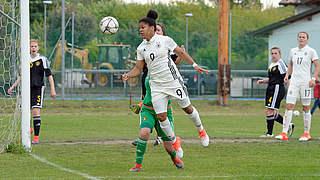 U 16-Juniorinnen gegen Mexiko um Platz drei