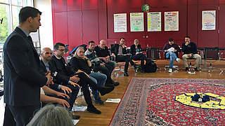 Drittligisten diskutieren Strategien im Kampf gegen Diskriminierung