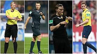 Schiedsrichter-Quartett steigt in die Bundesliga auf
