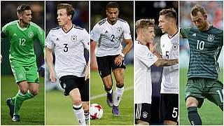 Sechs Deutsche in der Elf der U 21-EM
