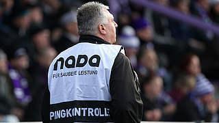 Dopingkontrolle beim A-Team in Mainz