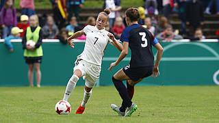 U 19-Frauen besiegen die USA 1:0
